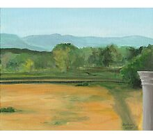 Bennington, pond view Photographic Print