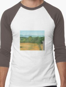 Bennington, pond view Men's Baseball ¾ T-Shirt