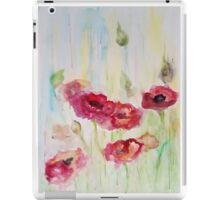 Poppies are my love iPad Case/Skin