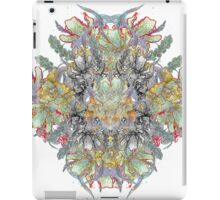 Psychedelic flower red bouquet iPad Case/Skin