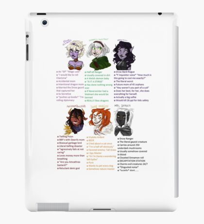 Dungeons and Dragons Children iPad Case/Skin