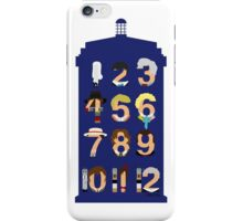 The Number Who iPhone Case/Skin