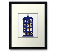 The Number Who Framed Print