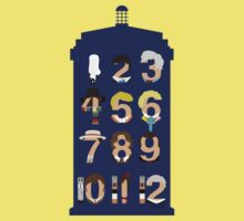 The Number Who Kids Tee