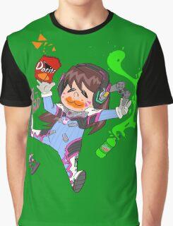 CHIBI GAMER D.AV Graphic T-Shirt