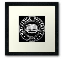 Miskatonic University Book Club Framed Print