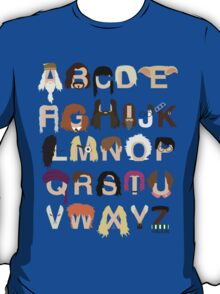 Harry Potter Alphabet T-Shirt