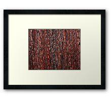 Lorne Splatter #4 Framed Print