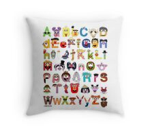 Sesame Street Alphabet Throw Pillow