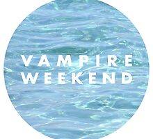 Water Vampire Weekend Logo by margaery