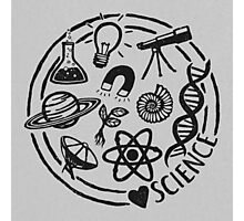 Love Science Photographic Print