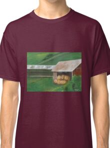 Vermont, red barn Classic T-Shirt