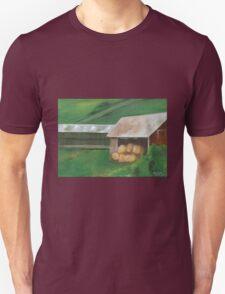 Vermont, red barn Unisex T-Shirt