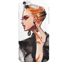 Girl in a Tuxedo iPhone Case/Skin