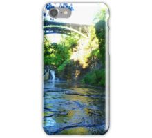 Cascadilla Gorge Waterfall iPhone Case/Skin