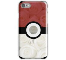 Pokemon Pokeball Roses iPhone Case/Skin