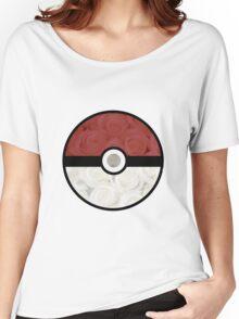 Pokemon Pokeball Roses Women's Relaxed Fit T-Shirt