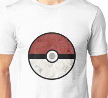 Pokemon Pokeball Roses Unisex T-Shirt
