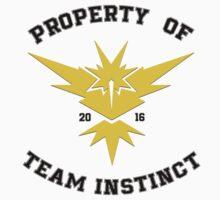 Property of Team Instinct Kids Tee