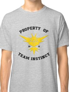 Property of Team Instinct Classic T-Shirt