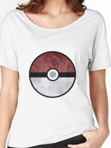 Pokemon Pokeball Water Women's Relaxed Fit T-Shirt
