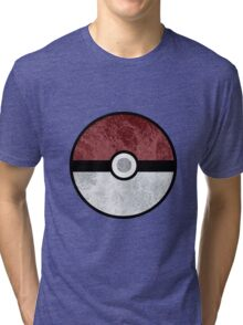 Pokemon Pokeball Water Tri-blend T-Shirt