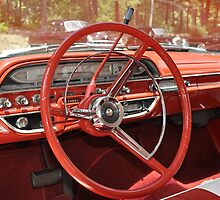 DASH/STEERING WHEEL '61 FORD GALAXIE  by Wviolet28