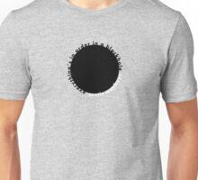 Fluorescent Adolescent: Black Hole Unisex T-Shirt