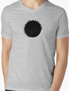 Fluorescent Adolescent: Black Hole Mens V-Neck T-Shirt