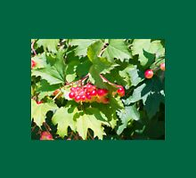 Leaves and unripe berries guelder viburnum opulus Unisex T-Shirt