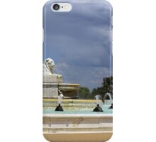 Fountain and Statue iPhone Case/Skin