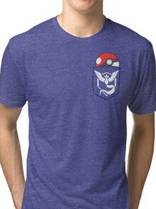 TEAM MYSTIC POCKET Tri-blend T-Shirt