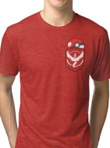 TEAM VALOR POCKET Tri-blend T-Shirt