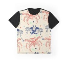 Nautical Formal Crabs Graphic T-Shirt