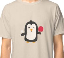 Penguin table tennis   Classic T-Shirt