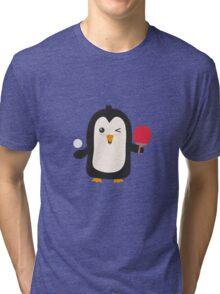 Penguin table tennis   Tri-blend T-Shirt
