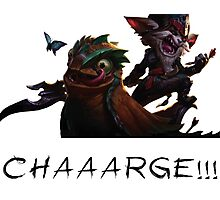 Kled - League of Legends : CHARGE ! Photographic Print