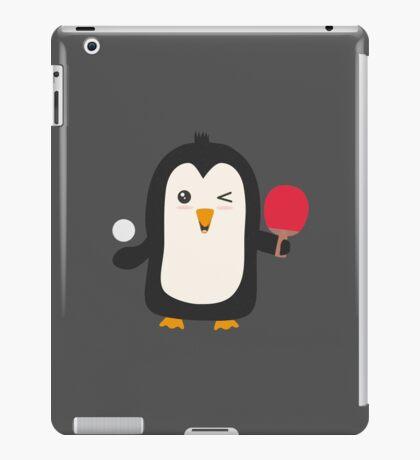 Penguin table tennis   iPad Case/Skin