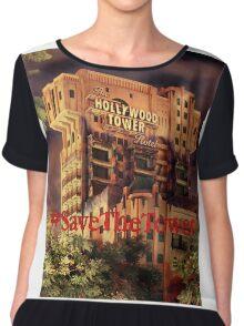 #SaveTheTower Chiffon Top