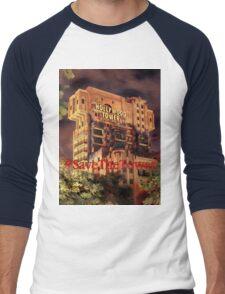 #SaveTheTower Men's Baseball ¾ T-Shirt