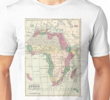 Vintage Map of Africa (1872) Unisex T-Shirt