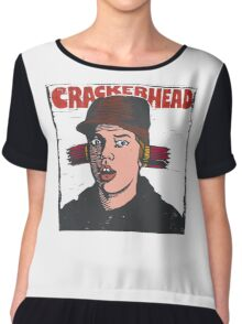 Crackerhead Chiffon Top