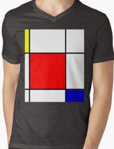 Modern - 2 Mens V-Neck T-Shirt
