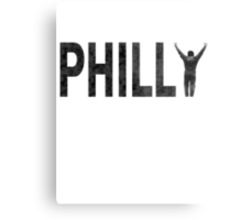 Philly State of Mind Metal Print