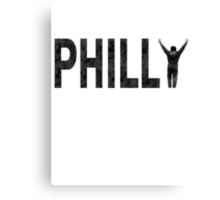 Philly State of Mind Canvas Print