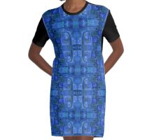 Indigo Plantagenets  Graphic T-Shirt Dress
