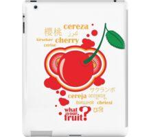 FruitHeads - cherry iPad Case/Skin