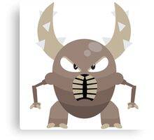 #127 Pinsir - Segmented Bug Type Pokemon Canvas Print