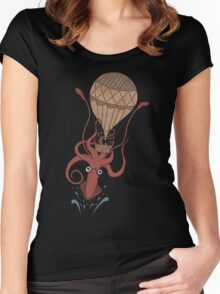 Around the World in 20,000 Leagues Women's Fitted Scoop T-Shirt