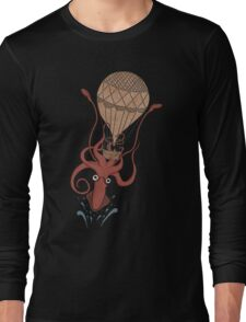 Around the World in 20,000 Leagues Long Sleeve T-Shirt